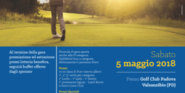 Lions Galileo GOLF CUP 2018
